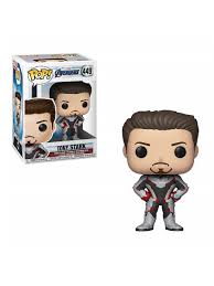 <b>Фигурка Funko POP</b>! Bobble: Marvel: Avengers Endgame: Tony ...