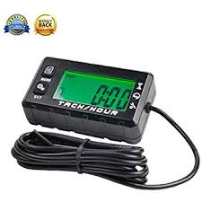 Small Digital Engine Tachometer Hour Meter Gauge ... - Amazon.com