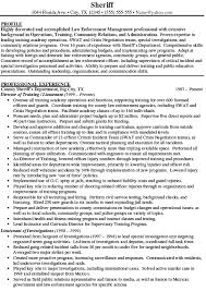 law enforcement resume example   download sample resumeprofessionally written law enforcement resume example  pdf