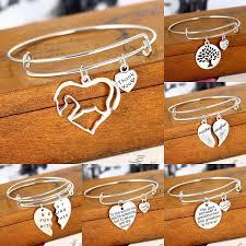 <b>CUTEECO</b> Charm Jewelry Family Women Bracelrt Heart Horse ...