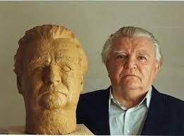Prof. Dr. Dr. Hans Mieskes 1995 neben seiner Porträtbüste von <b>Hans Wolfram</b> <b>...</b> - mieskes1995