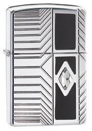 <b>Зажигалка Zippo Armor с</b> покрытием High Polish Chrome, латунь ...