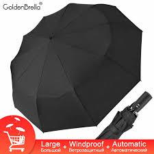 125cm Fully Automatic <b>Umbrella Rain</b> Women 3Fold <b>Top</b> Quality ...