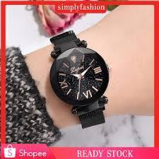 <b>Fashion Starry Sky</b> Stainless Steel Mesh Belt Watch Quartz Analog ...