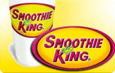 Buy Smoothie King Gift Cards | GiftCardGranny