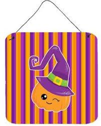 Zoomie Kids <b>Halloween Pumpkin</b> Witch <b>Aluminum</b> Wall Décor ...