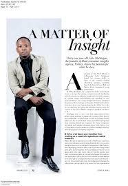 a matter of insight   foshizi essays of africa p