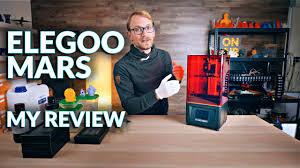 Is resin <b>3D printing</b> worth it? (<b>Elegoo</b> Mars Review) - YouTube
