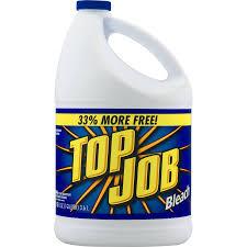 job regular bleach gallon top job regular bleach 1 gallon