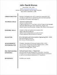 easy high school resume samples  tomorrowworld co  easy high school