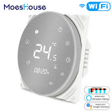 <b>MoesHouse BHT</b>-6000 <b>WiFi Smart</b> Thermostat Water/Electric Floor ...