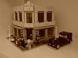 modular art deco corner office building a lego creation by snaillad mocpagescom art deco office building