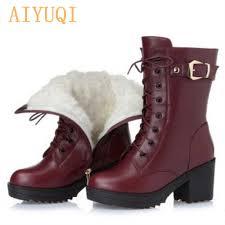 <b>AIYUQI Women</b> bare boots 2019 new genuine leather <b>women</b> boots ...