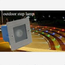85265vled waterproof 1w underground lights outdoor step stairs lights for garden banner5 stair lighting
