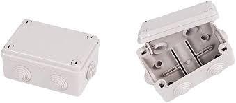 FLAMEER <b>2Pcs</b> ABS Plastic Dustproof Waterproof IP65 Junction ...