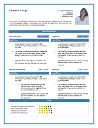 Simple Resume Cover Letter Template   sample resume with no job experience