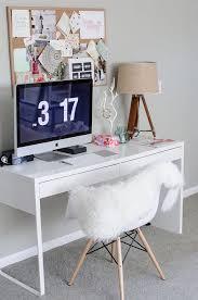 ikea micke desk scandinavian office ideas chic ikea micke desk white