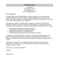 finance manager cover letter sample   business analyst cover    technical project manager cover letter sample