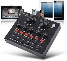 V8 Live Sound Card, Karaoke Sound Mixer ... - Amazon.com
