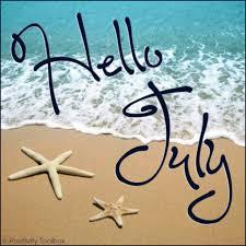 Resultado de imagen de bienvenido julio