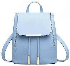 Buy Bizanne <b>Fashion Girl's</b> Canvas Attractive College Bag (Blue) at ...