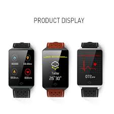 <b>CK19</b> Smart Bracelet Heart Rate Blood Pressure Monitoring <b>1.3 Inch</b> ...