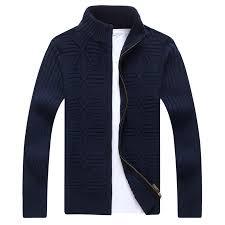 QUANBO Brand <b>2018 New Arrival</b> Autumn Winter Cardigans Men ...