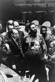 should the united states maintain the embargo on pros and fidel castro president of at a meeting of the united nations general assembly