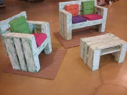 diy pallet furniture set for kids build pallet furniture
