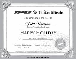 ipd graphics gift certificate ipd jet ski graphics gift certificate hanukkah sample gift certificate holiday sample