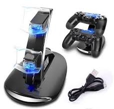 DUAL <b>New Arrival LED USB</b> ChargeDock Docking Cradle Station ...