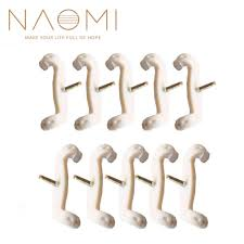 <b>NAOMI 10PCS</b> Violin Viola Shoulder Rest Feet / Fork <b>For</b> FOM KUN ...