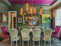 colorful dining chair