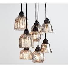 kenzie mercury chandelier at pottery barn hanging chandeliers pendant lighting ceiling lights chandeliers and pendant lighting