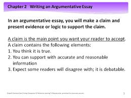 chapter  writing an argumentative essay grade  common core  chapter  writing an argumentative essay grade  common core writing companion  perfection learning