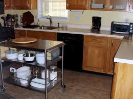 small portable kitchen island seating