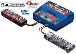 <b>Charger</b>, EZ-Peak® Dual, <b>100W</b>, NiMH/LiPo with iD® Auto Battery ...