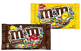 M&M's Plain or Peanut