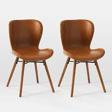 Uma <b>Faux Leather Dining Chair</b> (Set of 2)