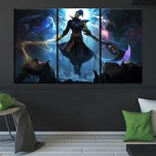 <b>Game Kayn Large Poster</b> Top Rated Canvas Print Type Modern ...