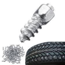 <b>100pcs universal car</b> tire stud screw non-slip metal snow ice spikes ...