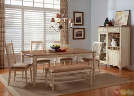 Kitchen Table With Benches Set Dining Room Tables With Bench Seats Unlockyourgpsinfo