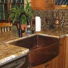 hammered copper kitchen sink: premier copper products kasrdb  inch hammered copper kitchen rounded apron single basin sink oil rubbed bronze single bowl sinks amazoncom