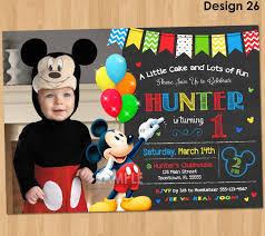 mickey mouse photo invitations com mickey mouse photo invitations out reducing the catchy essence of invitation templates printable on your invitatios card 20