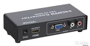 <b>Цифровой конвертер</b> VGA+R/L Audio to hdmi купить в ...