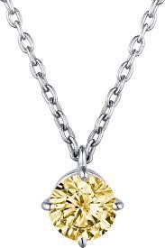 <b>Колье</b> Intalia, <b>серебро 925</b>, <b>цитрин</b>, 603921-007-0019