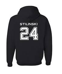 Adult <b>Stilinski</b> 24 Beacon Hills Lacrosse 2-Sided <b>Hoodie</b>