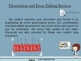 Dissertation and essay editing services online SlideShare Dissertation and