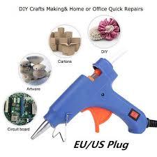 <b>20W</b> Electric <b>Heating</b> Hot Melt Glue Gun Art Craft <b>Repair Tool</b> +10X ...