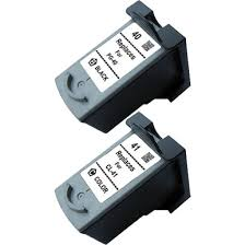 Canon <b>PG-40</b>, <b>CL-41 Ink Cartridge</b> 2-Pack Set, <b>Compatible</b>